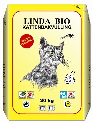 Linda bio-kattebakvulling
