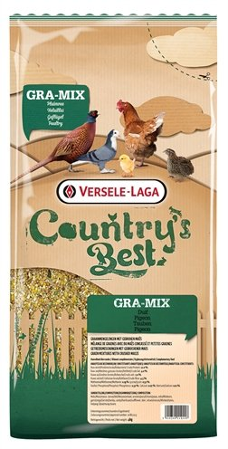Versele-laga country best gra-mix (sier)duif gebroken mais