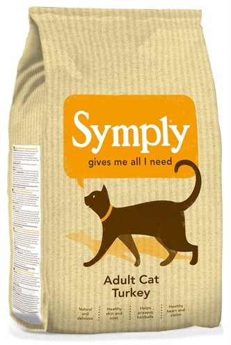 Symply cat adult kattenvoer kalkoen