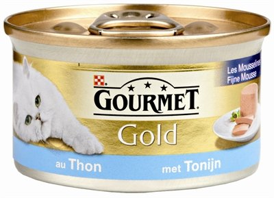Gourmet gold fijne mousse tonijn