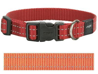 Rogz for dogs snake halsband oranje