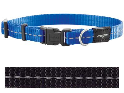 Rogz for dogs nitelife halsband zwart