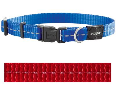 Rogz for dogs nitelife halsband rood