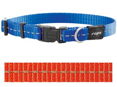Rogz for dogs nitelife halsband oranje