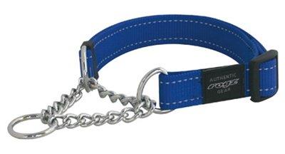Rogz for dogs lumberjack choker blauw