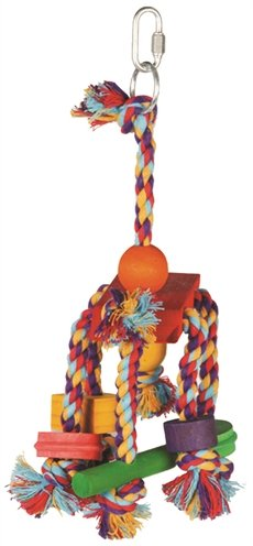 Happy pet speelgoed papegaai fiesta assorti