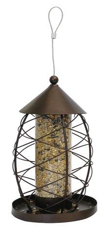 Zaadhouder vogel lantaarn antiek