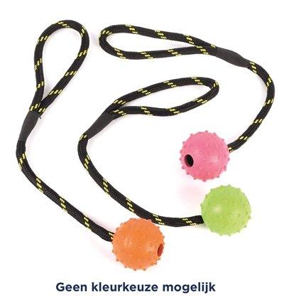Happy pet tough toys rubber jumbo bal aan