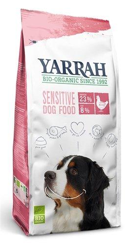 Yarrah dog biologische brokken sensitive kip zonder toegevoegde suiker
