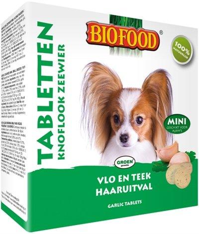 Biofood hondensnoepjes zeewier bij vlooien