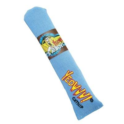 Yeowww sigaar met catnip blauw