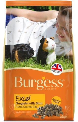 Burgess excel guinea pig caviavoer