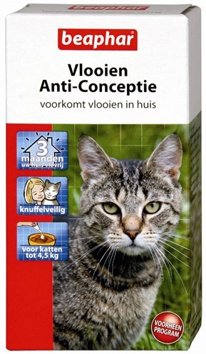 Beaphar vlooien anti-conceptie kat