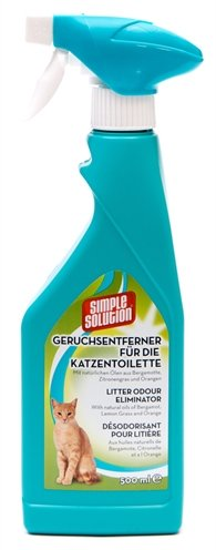 Simple solution deodorizer voor kattentoilet