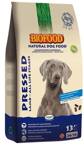 Biofood geperst lam / rijst premium