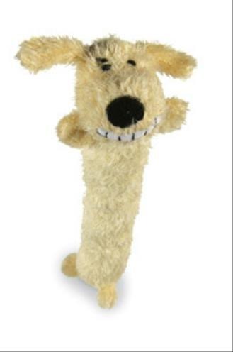 Happy pet pluche loofa dog