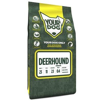 Yourdog deerhound senior