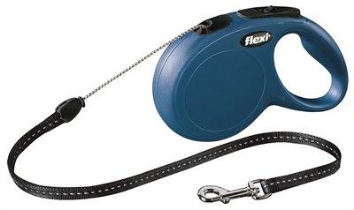 Flexi rollijn classic cord blauw