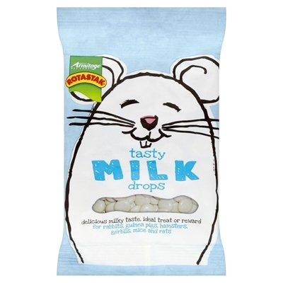 Tasty milk drops