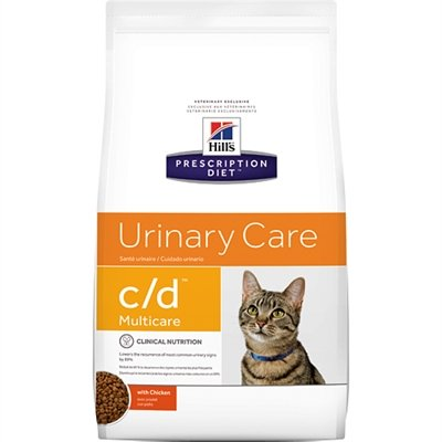 Hill's feline c/d multicare chicken