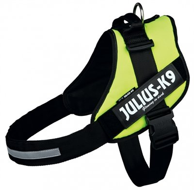 Julius k9 idc harnas / tuig neon groen