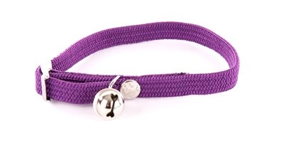 Halsband kat elastisch nylon paars
