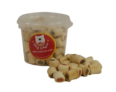 Dog treatz merg koekjes rund