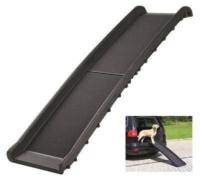 Trixie car ramp loopplank opvouwbaar zwart