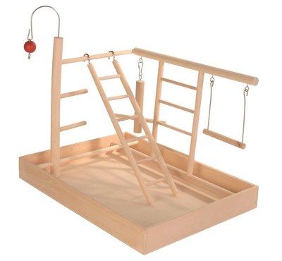 Trixie speelplaats hout voor kanarie en parkiet