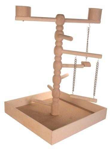 Trixie speelplaats hout voor agapornis en parkiet