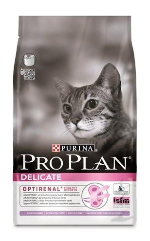 Pro plan cat delicate kalkoen/rijst