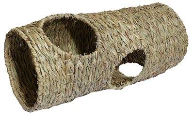 Rosewood naturals gevlochten jumbo tunnel