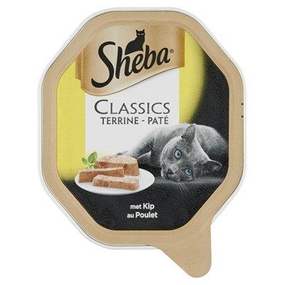 Sheba alu classics pate met kip