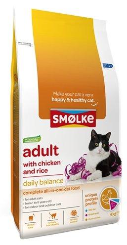 Smolke cat adult kip / rijst