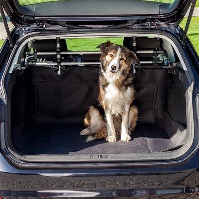Trixie autodeken kofferbak zwart