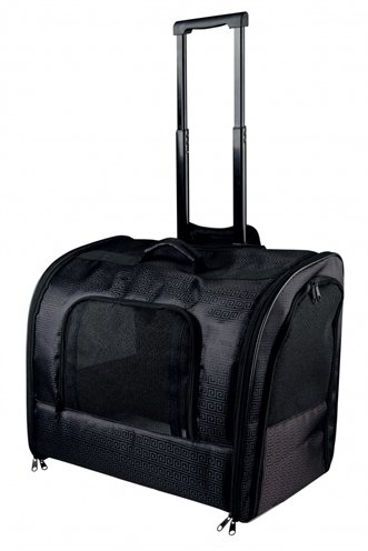 Trixie reismand trolley elegance zwart