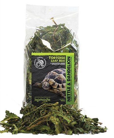 Komodo landschildpad bladerenmix