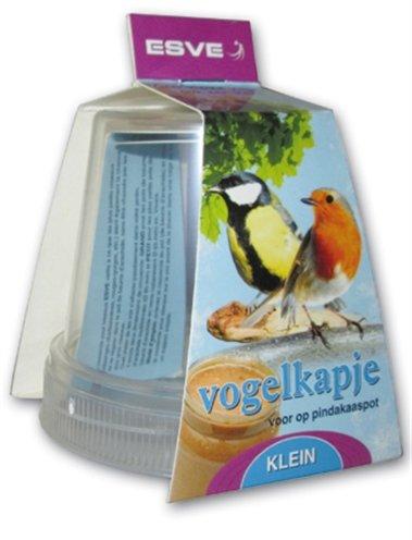 Esve vogelkapje voor pindakaaspot