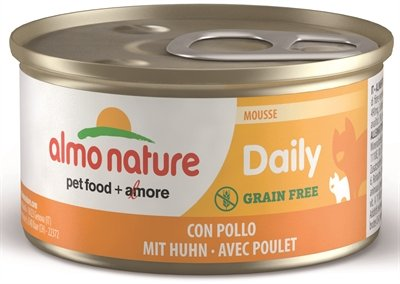 Almo daily menu mousse met kip