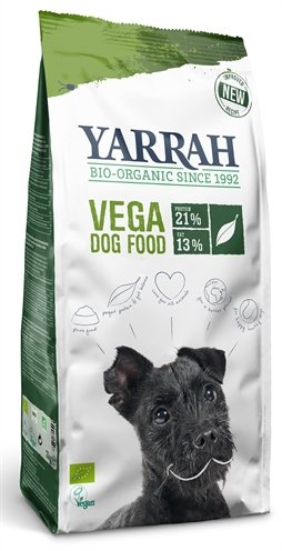 Yarrah dog biologische brokken vega baobab / kokosolie