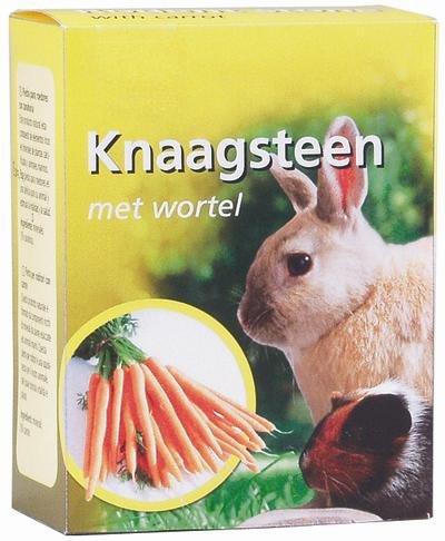 Knaagsteen met wortel