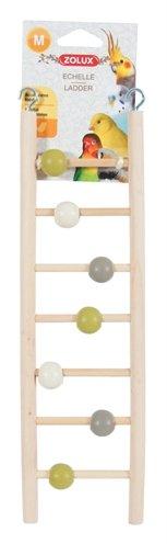 Zolux ladder hout 7 treden met kralen