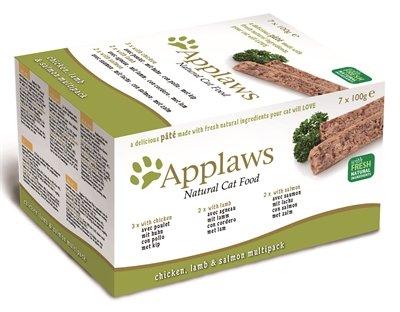 Applaws cat multipack chicken / lamb / salmon