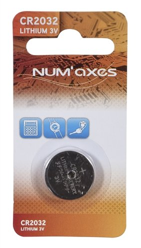Numaxes lithium batterij cr2032