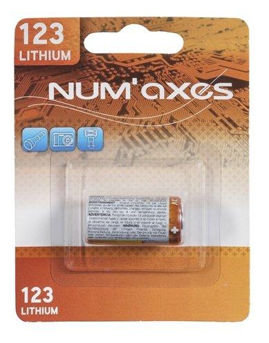 Numaxes lithium batterij cr123a