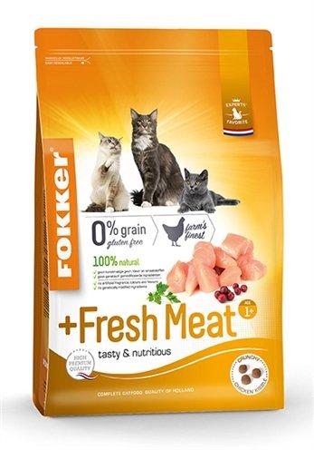 Fokker kat +fresh meat