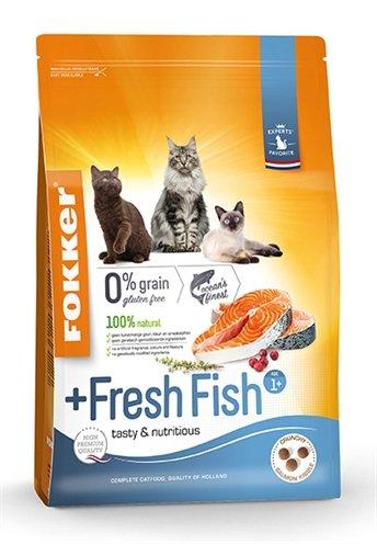 Fokker kat +fresh fish