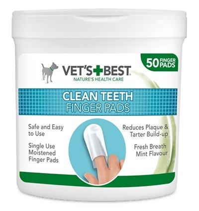 Vets best clean teeth finger pads