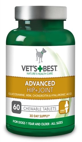 Vets best advanced hip+joint hond