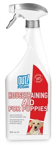 Out! housetraining aid for puppies